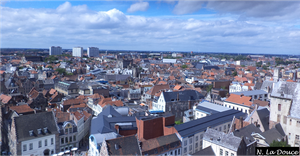 City of Ghent by Nestorladouce