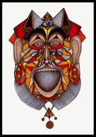Mourner's Mask by rockthemandolin