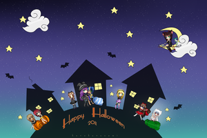 Happy Halloween 2011 by Minuet-Melody