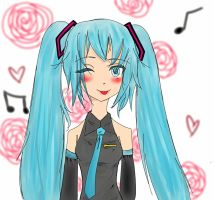 Hatsune Miku~ by Riot-For-Me