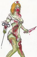 Zombie Nurse by moonraven373