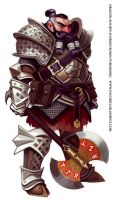 Dragon Age dwarf again by Mancomb-Seepwood