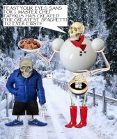 Realistic Sans and Papyrus by Josh-S26