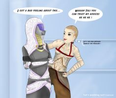 Tali's new suit II by CePheala