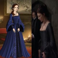 Anne Boleyn's Imprisonment Gown by Inuyashasmate
