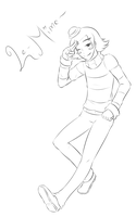 LeMime lineart by Whim-doll