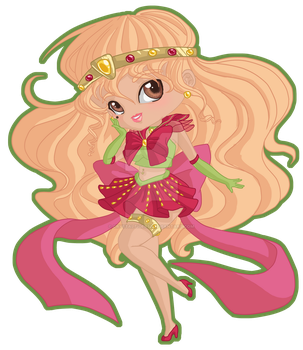 Gaia commish-Sailor Strawberry by crystaltiger52