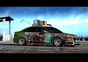 AUDI A4 RAT LOOK by Clipse89