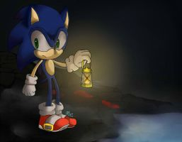 Sonic in Amnesia by Miiukka