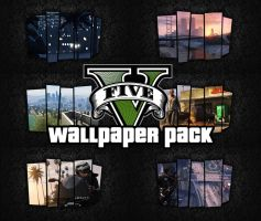 46x Grand Theft Auto V Wallpapers (No Logo Edit) by xDaftPunk