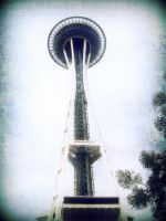 The Needle on a Cloudy Day by TankGirl86