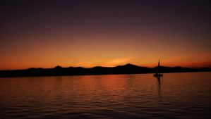 Dusk over Zadar by Wicked-Lexie