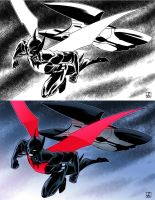 Batman Beyond for Batman Day by sean-izaakse