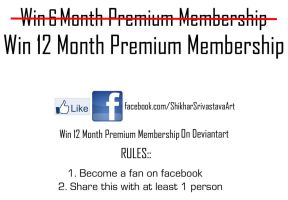 Get a Chance to win 12 month PM by pointssafe