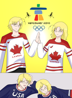 Hockey'10 Gold and Silver by con2020tran