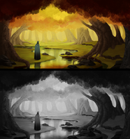 Autumn forest concept by Wrennars