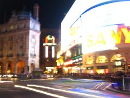 Piccadilly Circus II by adeelab