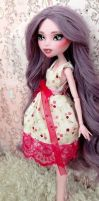 OOAK Elissabat - Customized Monster High doll by Katalin89