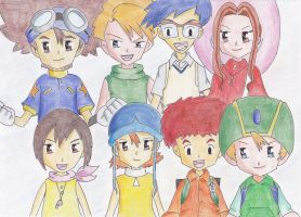 Digimon Adventure by YunaAngel90