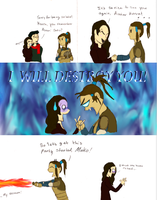 Korra will destry Asami! by halfatheory357