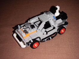 DeLorean from Back to the Future 3 by BrigadierDarman