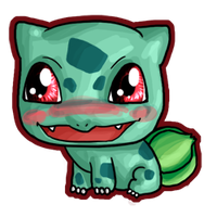 Chibi Bulbasaur by IcyPanther1