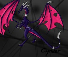 Cynder evil version by TigeraRainbowra