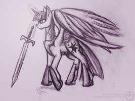 Twilight the warrior princess by Adalbertus