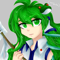 Sanae by MercuryParadoxica