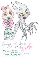 10 year old Annie and Shade by Kittychan2005