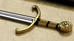King Henry VIII Ceremonial Sword by lucasa7x