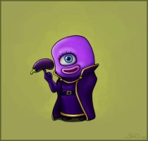 The Eggplant Wizard by capsicum