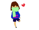 frisk GIF 2 by candypopexplosion
