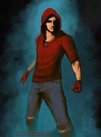 Colton Haynes' Roy Harper / Red Arrow by PaintedKing