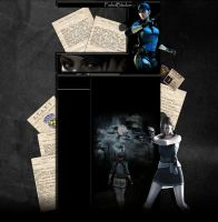Jill Valentine YT Background by FadedBlackangel