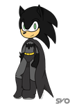 Batsonic (Inked and Colored) by Sapphire1X7