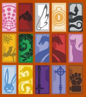 Rage of the Dragons Icons by mrvo