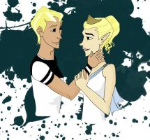 COTT - Neil and Echo by andreya133