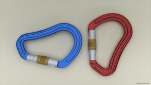 Anodized Carabiners by elbrujodelatribu