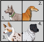Dog Designs auction- link in artists comment by nekonotaishou