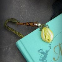 A Warrior{ess} and her Dragon Bookmark by VulvaLoveLovely