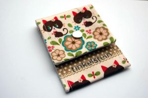 Cute Kitty wallet by tinkelstein