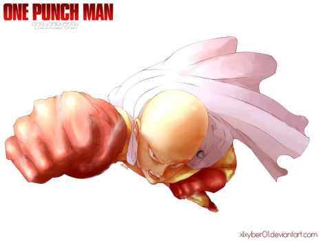 One Punch Man by Xlxyber01