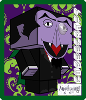 Count Von Count Cubeecraft by angelyques