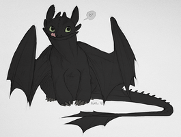 It's a Toothless by Hakaishi