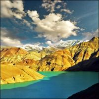 Tibet Turquoise lake inspired by jup3nep