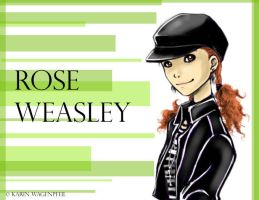 Rose Weasley by Glaciens