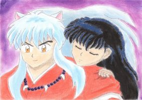 Tired Kagome by JamieWardley