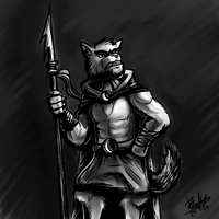 RCC - Angry Werewolf Assassin - Toned by Droakir
