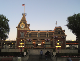 Main Street Station - Disneyland by Skylanth